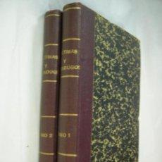 Libros antiguos: VÍCTIMAS Y VERDUGOS. CUADROS DE LA REVOLUCIÓN FRANCESA. 2 TOMOS. MADRID, 1896. Lote 60003279