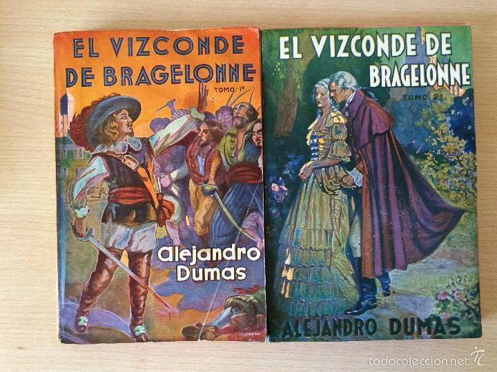 EL VIZCONDE DE BRAGELONNE. ALEJANDRO DUMAS. 1957 (Libros antiguos (hasta 1936), raros y curiosos - Literatura - Narrativa - Novela Histórica)