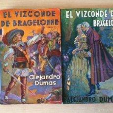 Libros antiguos: EL VIZCONDE DE BRAGELONNE. ALEJANDRO DUMAS. 1957. Lote 61256355