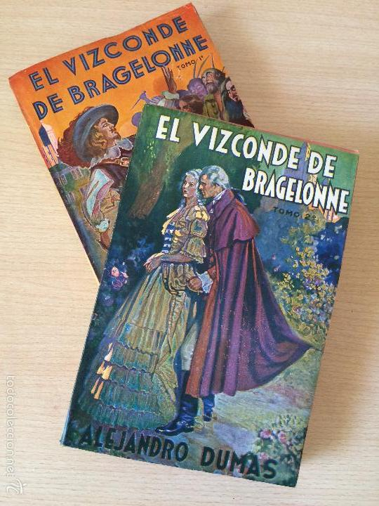 Libros antiguos: EL VIZCONDE DE BRAGELONNE. ALEJANDRO DUMAS. 1957 - Foto 2 - 61256355