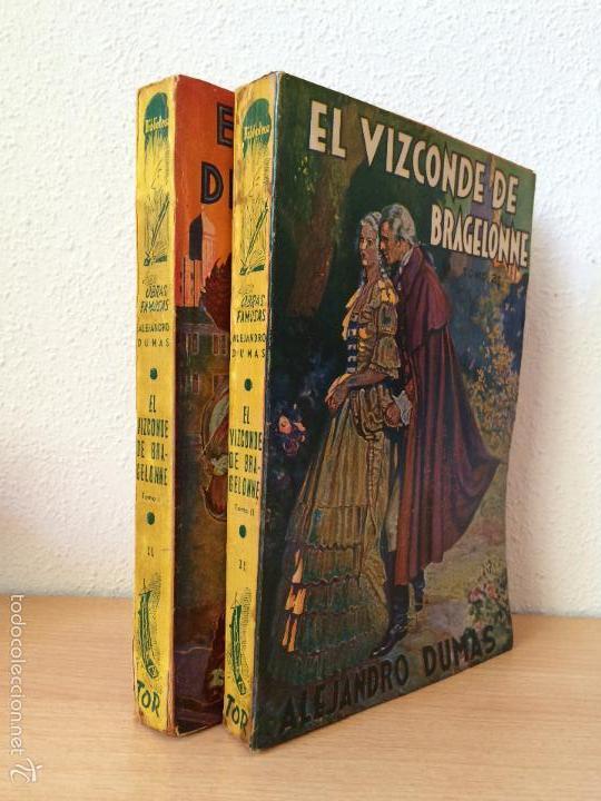 Libros antiguos: EL VIZCONDE DE BRAGELONNE. ALEJANDRO DUMAS. 1957 - Foto 3 - 61256355
