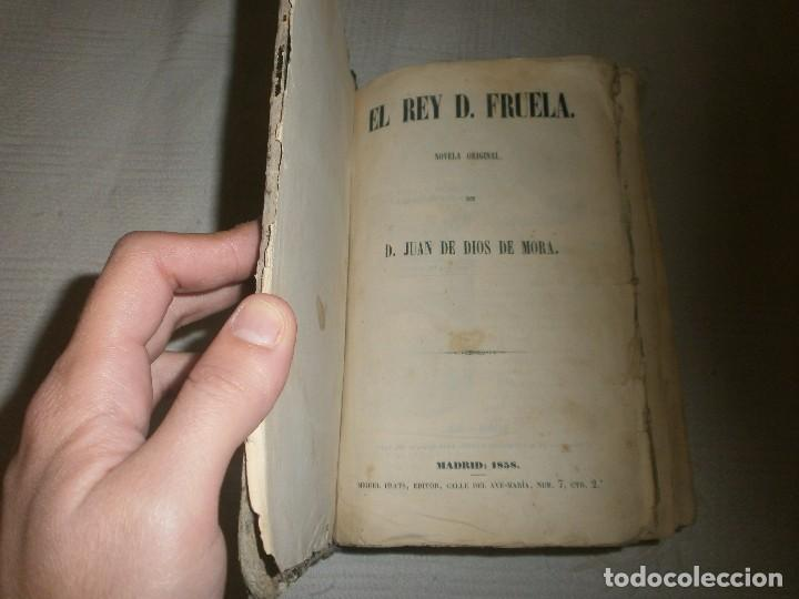 EL REY D. FRUELA- NOVELA ORIGINAL DE D. JUAN DE DIOS DE MORA. MADRID (1858) MIGUEL PRATS EDITOR (Libros antiguos (hasta 1936), raros y curiosos - Literatura - Narrativa - Novela Histórica)