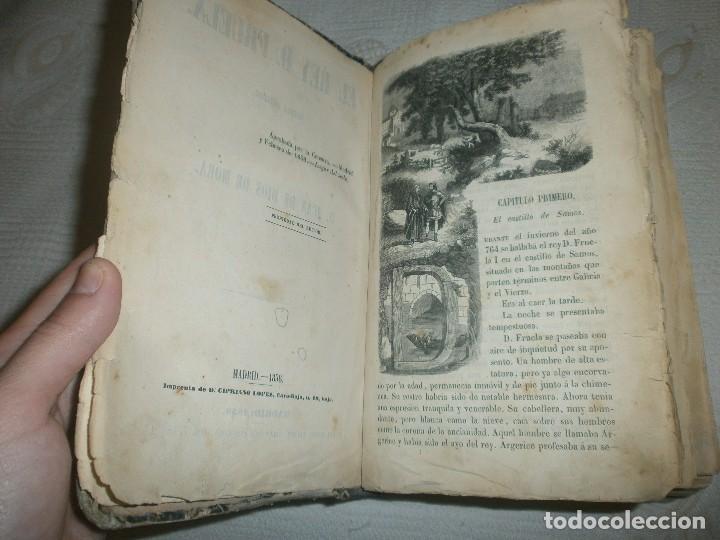 Libros antiguos: EL REY D. FRUELA- NOVELA ORIGINAL DE D. JUAN DE DIOS DE MORA. MADRID (1858) MIGUEL PRATS EDITOR - Foto 4 - 61545824