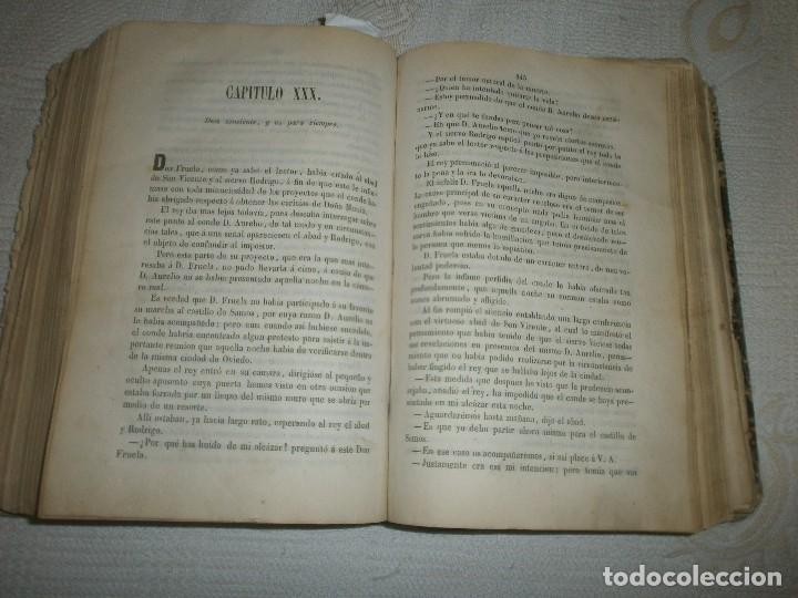 Libros antiguos: EL REY D. FRUELA- NOVELA ORIGINAL DE D. JUAN DE DIOS DE MORA. MADRID (1858) MIGUEL PRATS EDITOR - Foto 7 - 61545824