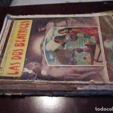 Libros antiguos: LAS DOS BEATRICES, ANTONIO JULIO BARRILI, EDITORIAL MAUCCI. Lote 63594268