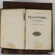 Libros antiguos: 5093- EL COCINERO DE SU MAJESTAD. MANUEL FERNANDEZ Y GONZALEZ. IMP. GASPAR I ROIG. 1865.. Lote 45078943