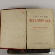 Libros antiguos: 5122- EL PRINCIPE DE LOS INGENIOS. MANUEL FERNANDEZ. EDIT. ESPASA. SIN FECHA.. Lote 45194431