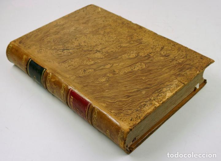 Libros antiguos: FRA FILIPPO LIPPI, NOVELA. EMILIO CASTELAR, 2ªed, 1879. 21x29 cm. - Foto 3 - 69254649