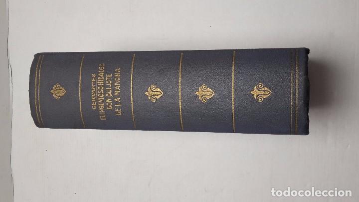 Libros antiguos: EL INGENIOSO HIDALGO DON QUIJOTE DE LA MANCHA / EDITORIAL RAMÓN SOPENA, 1958 - Foto 2 - 75504405
