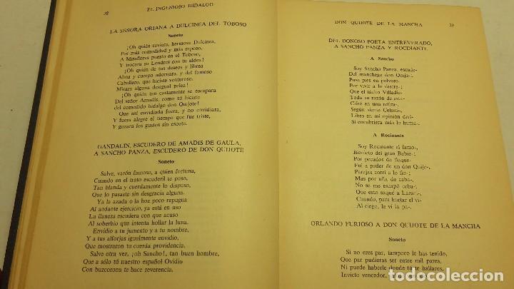 Libros antiguos: EL INGENIOSO HIDALGO DON QUIJOTE DE LA MANCHA / EDITORIAL RAMÓN SOPENA, 1958 - Foto 5 - 75504405