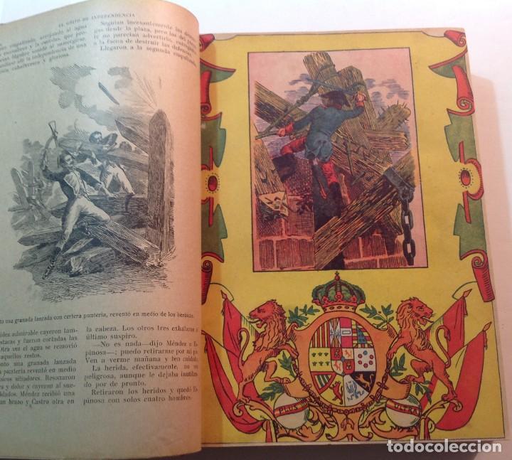 Libros antiguos: Ca.1900 * GUERRA DE INDEPENDENCIA * EL GRITO DE LA INDEPENDENCIA * C. Mendoza 886 pag y 50 laminas - Foto 2 - 70210349