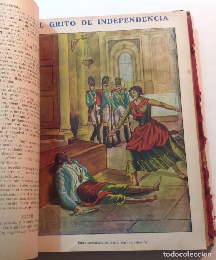 Libros antiguos: Ca.1900 * GUERRA DE INDEPENDENCIA * EL GRITO DE LA INDEPENDENCIA * C. Mendoza 886 pag y 50 laminas - Foto 3 - 70210349