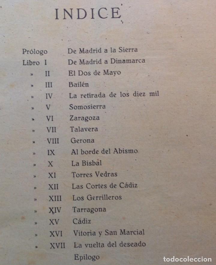 Libros antiguos: Ca.1900 * GUERRA DE INDEPENDENCIA * EL GRITO DE LA INDEPENDENCIA * C. Mendoza 886 pag y 50 laminas - Foto 5 - 70210349