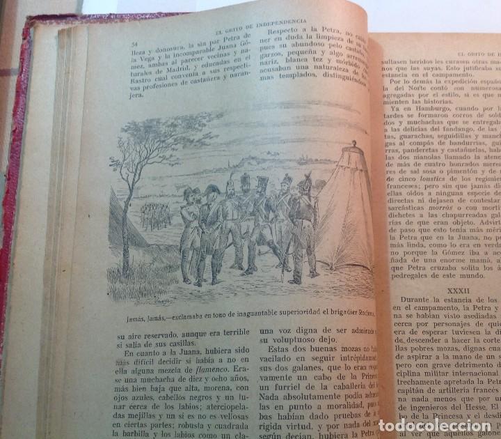 Libros antiguos: Ca.1900 * GUERRA DE INDEPENDENCIA * EL GRITO DE LA INDEPENDENCIA * C. Mendoza 886 pag y 50 laminas - Foto 7 - 70210349