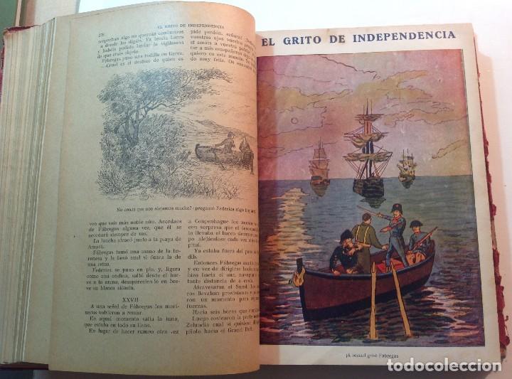 Libros antiguos: Ca.1900 * GUERRA DE INDEPENDENCIA * EL GRITO DE LA INDEPENDENCIA * C. Mendoza 886 pag y 50 laminas - Foto 9 - 70210349