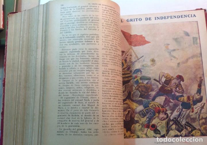 Libros antiguos: Ca.1900 * GUERRA DE INDEPENDENCIA * EL GRITO DE LA INDEPENDENCIA * C. Mendoza 886 pag y 50 laminas - Foto 10 - 70210349