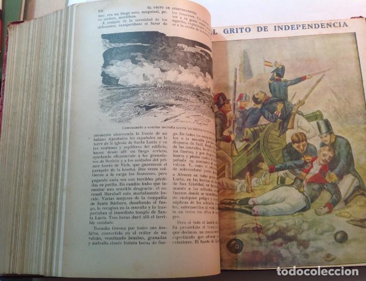 Libros antiguos: Ca.1900 * GUERRA DE INDEPENDENCIA * EL GRITO DE LA INDEPENDENCIA * C. Mendoza 886 pag y 50 laminas - Foto 11 - 70210349