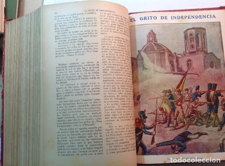 Libros antiguos: Ca.1900 * GUERRA DE INDEPENDENCIA * EL GRITO DE LA INDEPENDENCIA * C. Mendoza 886 pag y 50 laminas - Foto 12 - 70210349