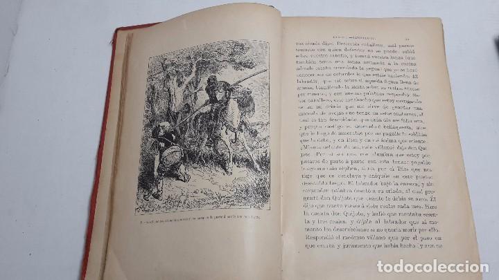 Libros antiguos: DON QUIJOTE DE LA MANCHA DOS TOMOS COMPLETO. - Foto 4 - 71599759