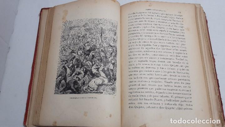 Libros antiguos: DON QUIJOTE DE LA MANCHA DOS TOMOS COMPLETO. - Foto 5 - 71599759