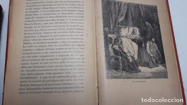 Libros antiguos: DON QUIJOTE DE LA MANCHA DOS TOMOS COMPLETO. - Foto 9 - 71599759