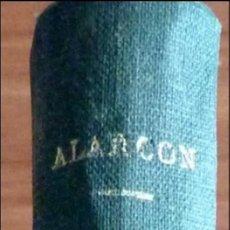 Libros antiguos: EL CAPITAN VENENO E Hª DE MIS LIBROS, PA DE ALARCON 1918. Lote 48102476