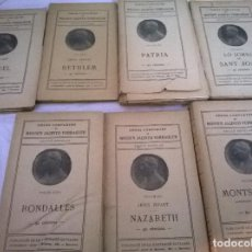 Libros antiguos: LOTE SIETE LIBROS DE MOSSEN JACINTO VERDAGUER. Lote 73035003