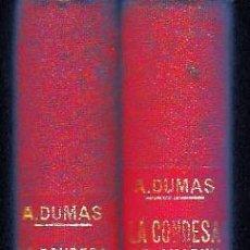 Libros antiguos: LA CONDESA DE CHARNY 2 VOLS. (A. DUMAS . SOPENA 1931) SIN USAR.. Lote 73637155