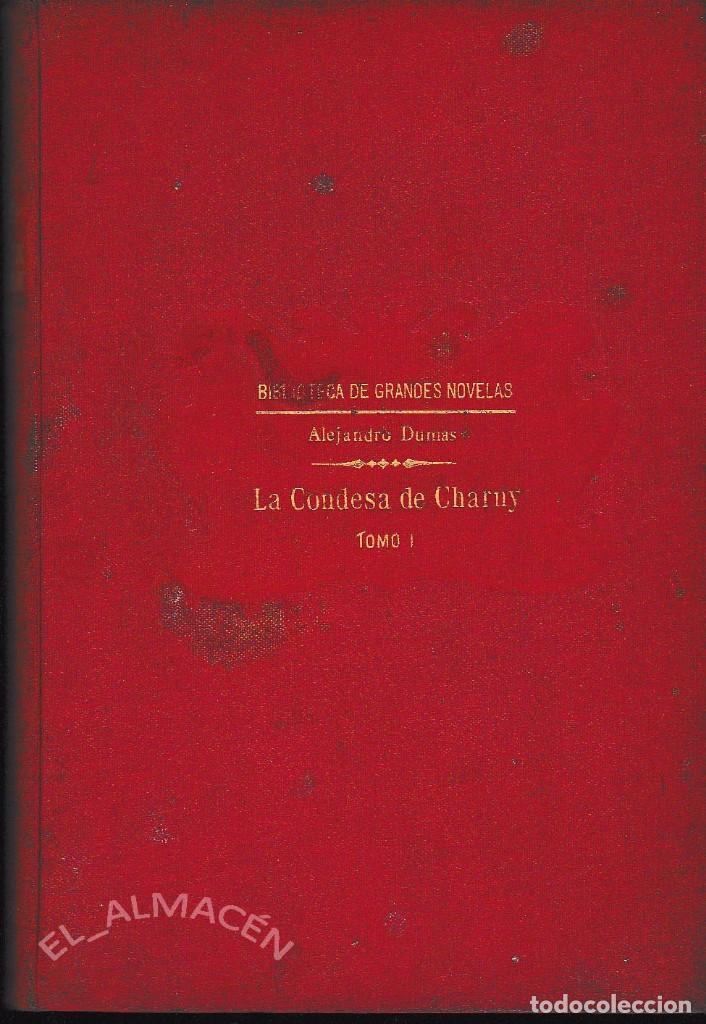 Libros antiguos: LA CONDESA DE CHARNY 2 VOLS. (A. DUMAS . SOPENA 1931) SIN USAR. - Foto 2 - 73637155
