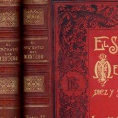 Libros antiguos: CARLOS MAYO : EL SECRETO DEL MENDIGO O 16 AÑOS DE INJUSTO DESTIERRO -DOS TOMOS (RUBINSTEIN, C 1890). Lote 78148241