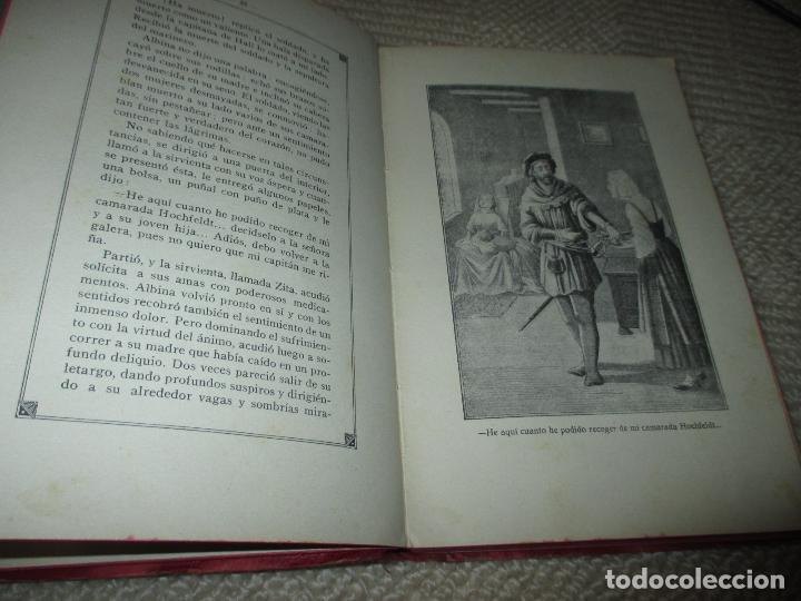 Libros antiguos: La hija de un héroe de Lepanto. Novela histórica del siglo XVI, Biblioteca Esmeralda. Circa 1900 - Foto 4 - 78649281