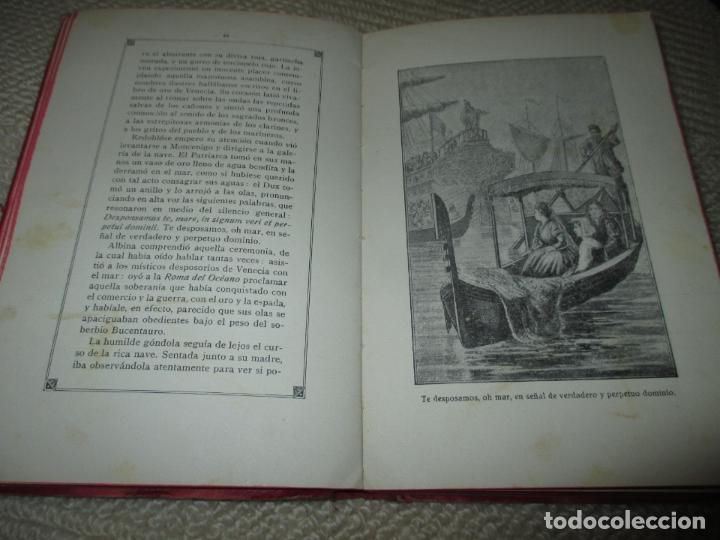 Libros antiguos: La hija de un héroe de Lepanto. Novela histórica del siglo XVI, Biblioteca Esmeralda. Circa 1900 - Foto 5 - 78649281