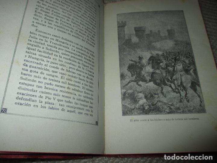 Libros antiguos: La hija de un héroe de Lepanto. Novela histórica del siglo XVI, Biblioteca Esmeralda. Circa 1900 - Foto 6 - 78649281
