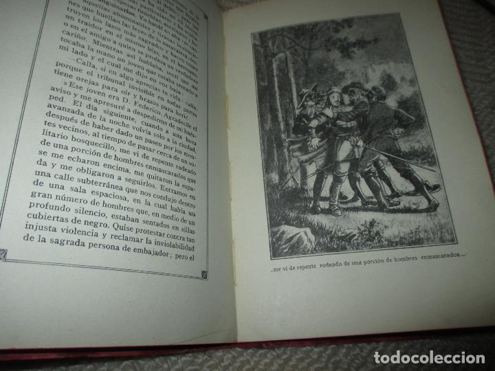 Libros antiguos: La hija de un héroe de Lepanto. Novela histórica del siglo XVI, Biblioteca Esmeralda. Circa 1900 - Foto 7 - 78649281