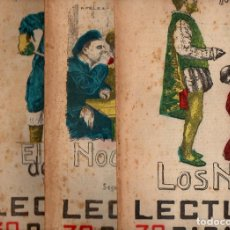 Libros antiguos: MANZONI : LOS NOVIOS - 4 VOLS. (LECTURAS PARA TODOS, 1936). Lote 81012896