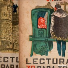 Libros antiguos: LEANDRO HERRERO : EL MONJE DEL MONASTERIO DE YUSTE- 2 VOLS.(LECTURAS PARA TODOS, 1934). Lote 81014580