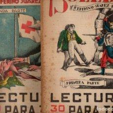 Libros antiguos: CEFERINO SUÁREZ-BRAVO : SOLEDAD - 2 VOLS.(LECTURAS PARA TODOS, 1934). Lote 81016300