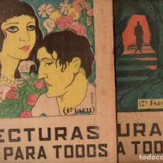 Libros antiguos: FERNANDO PATXOT : LAS RUINAS DE MI CONVENTO - 2 VOLS.(LECTURAS PARA TODOS, 1934). Lote 81024512