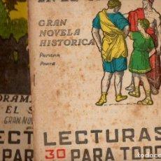 Libros antiguos: DRAMA DE AMOR EN EL SIGLO TRES - 2 VOLS.(LECTURAS PARA TODOS, 1935). Lote 81024964