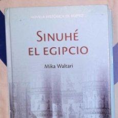 Libros antiguos: SINUHE EL EGIPCIO - MIKA WALTARI; RBA. Lote 137366109