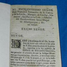 Libros antiguos: (MF) LA VIDA Y HECHOS DE ( ESTEVANILLO ) ESTEBANILLO GONZALEZ , MADRID 1720 IMP JUAN SANZ. Lote 84694984