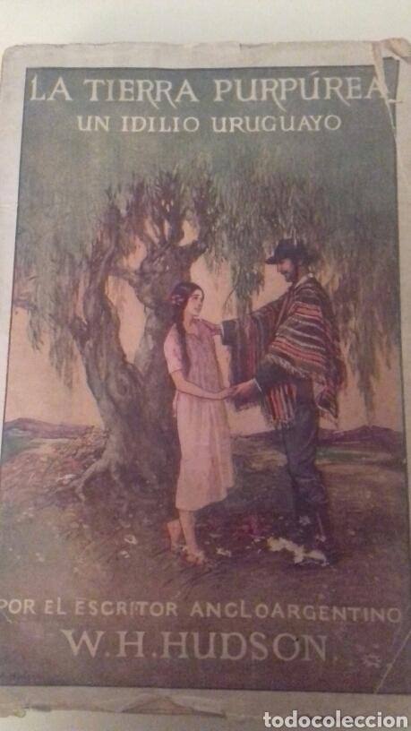 LA TIERRA PURPUREA UN IDILIO URUGUAYO W H HUDSON 1928 PRIMERA EDICION EN CASTELLANO (Libros antiguos (hasta 1936), raros y curiosos - Literatura - Narrativa - Novela Histórica)