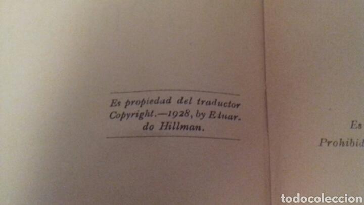 Libros antiguos: LA TIERRA PURPUREA Un idilio uruguayo W H Hudson 1928 PRIMERA EDICION EN CASTELLANO - Foto 3 - 85266880