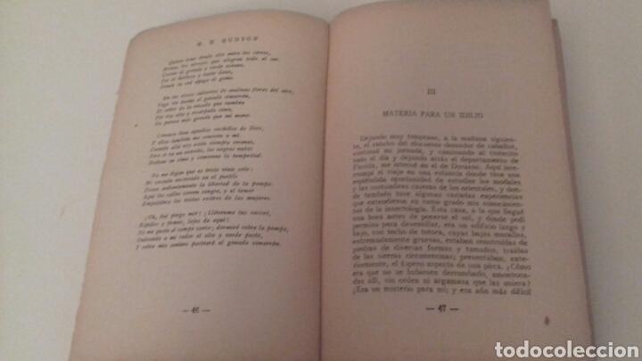 Libros antiguos: LA TIERRA PURPUREA Un idilio uruguayo W H Hudson 1928 PRIMERA EDICION EN CASTELLANO - Foto 4 - 85266880