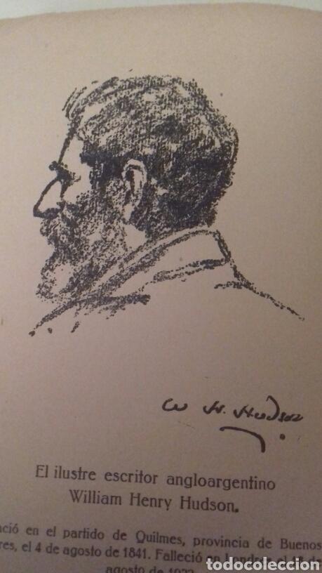 Libros antiguos: LA TIERRA PURPUREA Un idilio uruguayo W H Hudson 1928 PRIMERA EDICION EN CASTELLANO - Foto 6 - 85266880