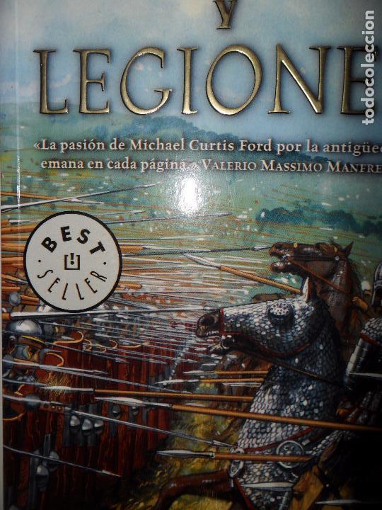 DIOSES Y LEGIONES, MICHAEL CURTIS FORD, ED. DEBOLSILLO (Libros antiguos (hasta 1936), raros y curiosos - Literatura - Narrativa - Novela Histórica)