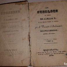 Libros antiguos: MUY RARO.1838. LOS REBELDES EN TIEMPO DE CARLOS V.VOL I. VIZCONDE D'ARLINCOURT.. Lote 87634232