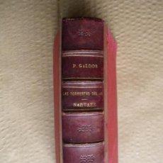 Libros antiguos: LAS TORMENTAS DEL 48 - NARVAEZ. B. PEREZ GALDOS.. Lote 89826164