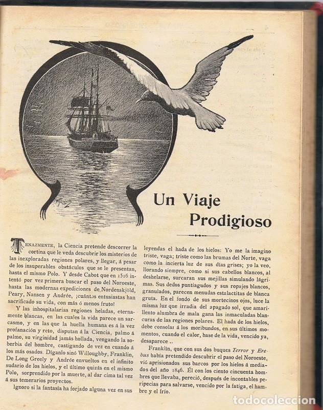 Libros antiguos: UN VIAJE PRODIGIOSO JAIME BRAGADO 1906 - Foto 3 - 90195380