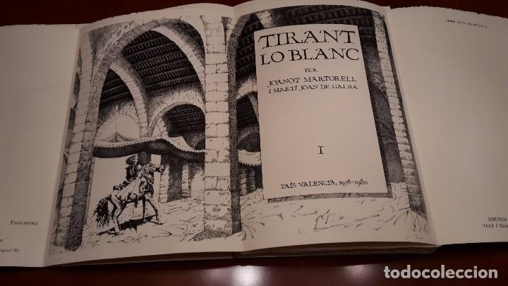 TIRANT LO BLANC. VOLUM I - MANUEL BOIX GRAVADOS. (Libros antiguos (hasta 1936), raros y curiosos - Literatura - Narrativa - Novela Histórica)